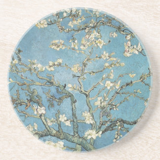 Almond branches in bloom, 1890, Vincent van Gogh Beverage Coaster
