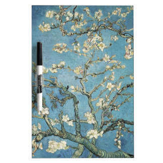 Almond branches in bloom, 1890, Vincent van Gogh Dry-Erase Board