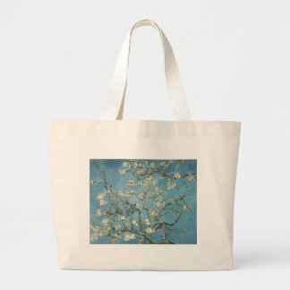 Almond branches in bloom, 1890, Vincent van Gogh Jumbo Tote Bag