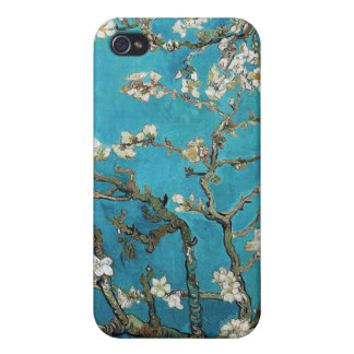 Almond Branches in Bloom, San Remy, c.1890 iPhone 4 Covers