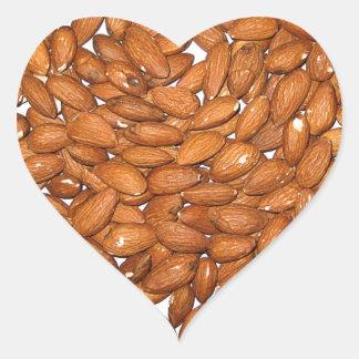 Almond Heart Heart Sticker