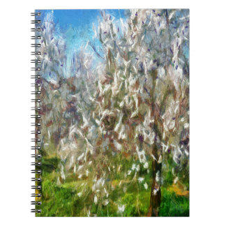Almond Orchard Blossom Notebook