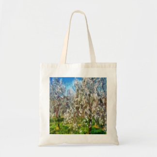 Almond Orchard Blossom Tote Bag