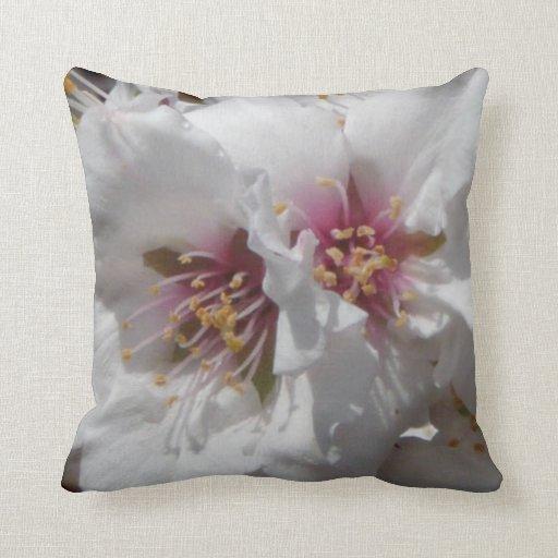 Almond Tree Blooms American MoJo Pillow