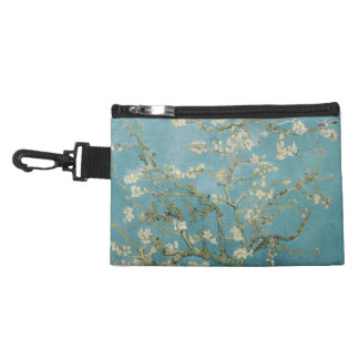 Almond tree in blossom by Vincent Van Gogh Accessory Bags