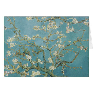 Almond tree in blossom by Vincent Van Gogh Card