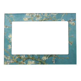 Almond tree in blossom by Vincent Van Gogh Frame Magnet