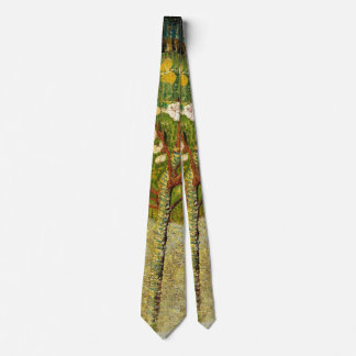 Almond Tree in Blossom, Van Gogh Fine Art Tie
