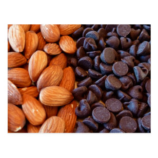 Almonds & Chocolate Chips Postcard