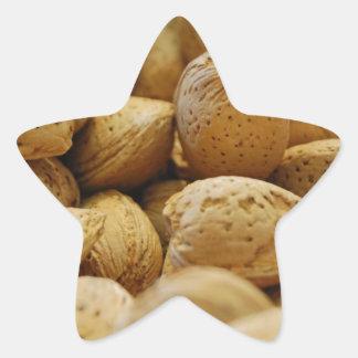 Almonds Star Sticker