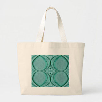 almost circle turquoise jumbo tote bag