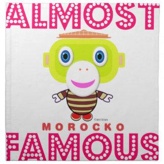 Almost Famous-Cute Monkey-Morocko Napkin