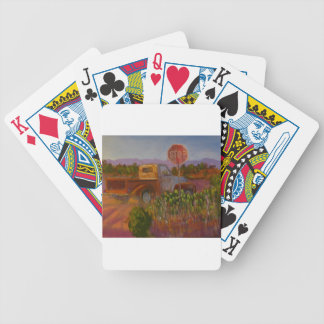 Almost Home Bicycle Playing Cards