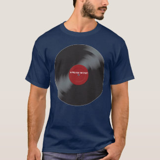 Alms For The Poet Record T-shirt