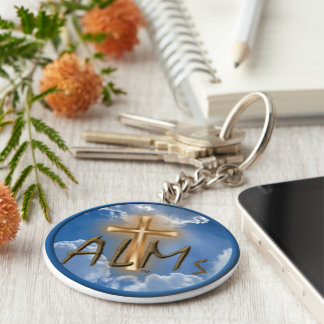 Alms WW Logo key chain