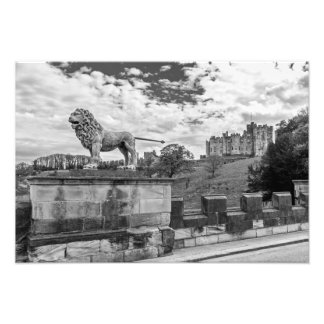 Alnwick Castle, Northumberland Photograph