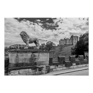 Alnwick Castle, Northumberland Poster
