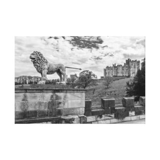 Alnwick Castle, Northumberland Stretched Canvas Prints
