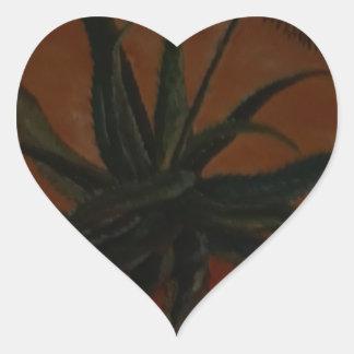 Aloe Heart Sticker