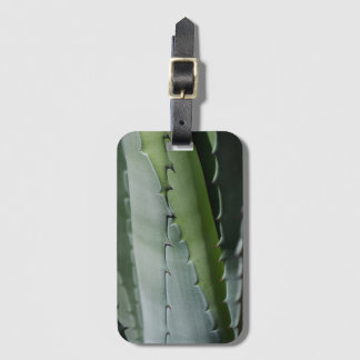 Aloe - Macro Fine Art Photograph Luggage Tag