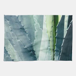 Aloe - Macro Fine Art Photograph Tea Towel