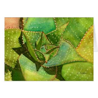 Aloe notecard