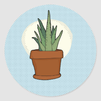 Aloe Plant Sticker