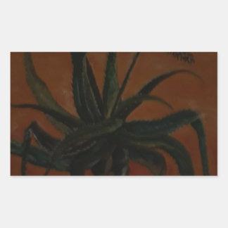 Aloe Rectangular Sticker
