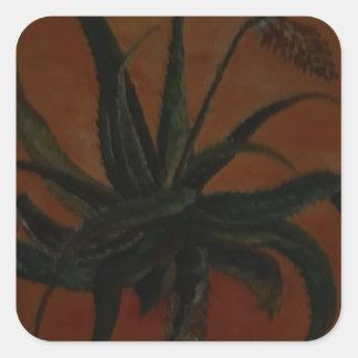 Aloe Square Sticker