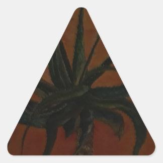 Aloe Triangle Sticker