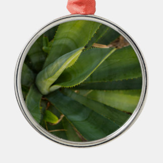 Aloe Vera Metal Ornament