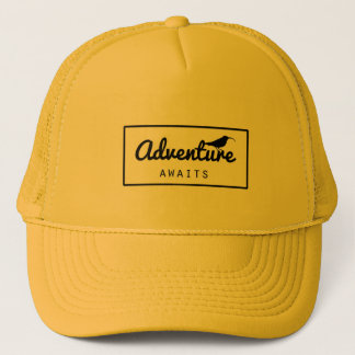Aloha adventure trucker hat