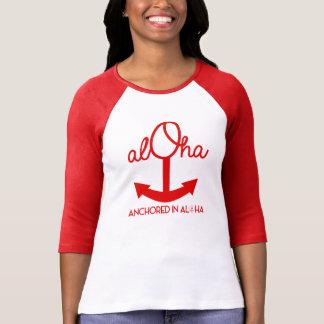 Aloha Anchor Baseball Shirt