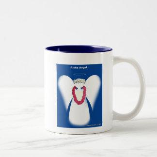 Aloha Angel Two-Tone Coffee Mug