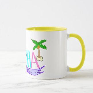 Aloha  banner mug