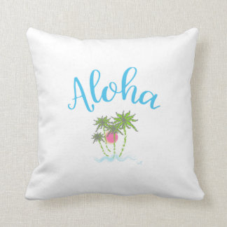Aloha Beaches Hawaiian Style Summer Unique Cushion