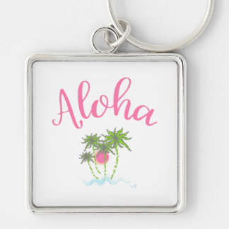 Aloha Beaches Hawaiian Style Summera Key Ring