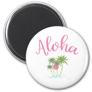 Aloha Beaches Hawaiian Style Summera Magnet