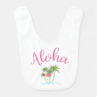 Aloha-Beaches Hawaiian Style Vacation Cool Bib
