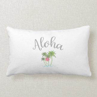 Aloha Beaches Hawaiian Tropical  Summer Unique Lumbar Cushion