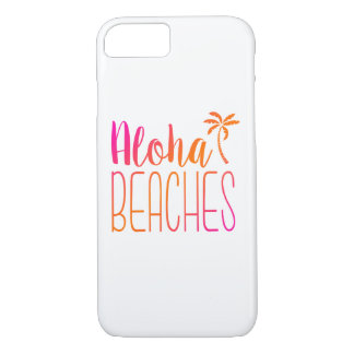 Aloha Beaches | Pink and Orange Ombre Case