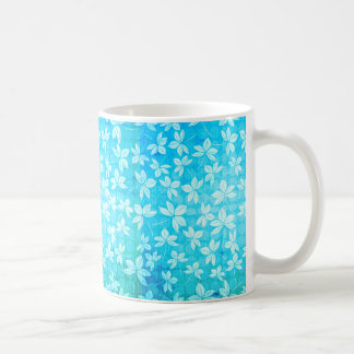 Aloha Blue Leaf Coffee Mug