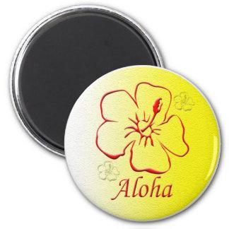 Aloha Button copy Magnet