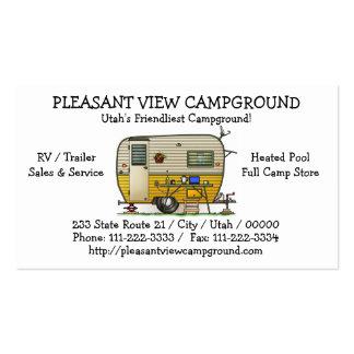Aloha Camper Trailer Pack Of Standard Business Cards