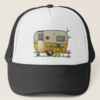 Aloha Camper Trailer Trucker Hat