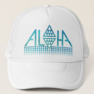 Aloha Diamond Tapa Trucker Hat