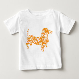 Aloha-Doxie-Orange Baby T-Shirt