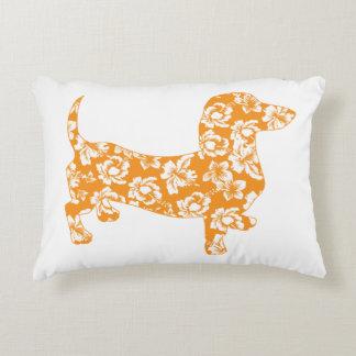 Aloha-Doxie-Orange Decorative Cushion