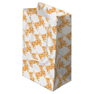 Aloha-Doxie-Orange Small Gift Bag