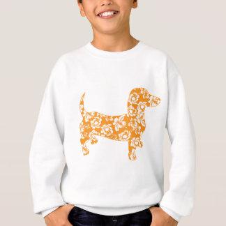 Aloha-Doxie-Orange Sweatshirt